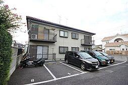 埼玉県春日部市一ノ割2丁目の賃貸アパートの外観