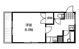 フラット福寿第3[2階]の間取り