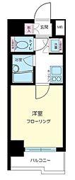 東京都品川区東五反田2丁目の賃貸マンションの間取り