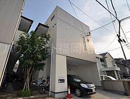 福岡県福岡市中央区梅光園2の賃貸アパートの外観