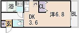 (仮称)東大阪市宝持3丁目[1階]の間取り