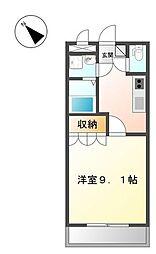 アメニティプレイス・E[2階]の間取り