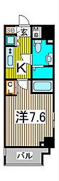 Humanハイム北浦和駅前[5階]の間取り