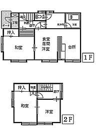 [一戸建] 青森県八戸市長苗代4丁目 の賃貸【/】の間取り