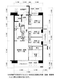 酉島リバーサイドヒルなぎさ街16号棟[1階]の間取り