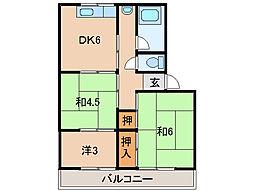 小堀マンション[2階]の間取り