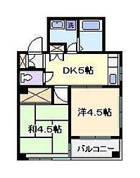 SHANGRI−LA 1[2階]の間取り