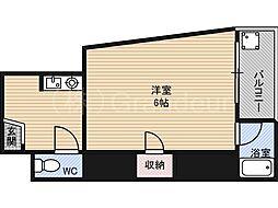 第三ササイマンション[3階]の間取り