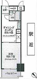 東京都板橋区板橋1の賃貸マンションの間取り