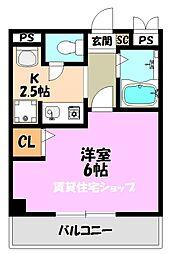 メゾンアラモード[3階]の間取り