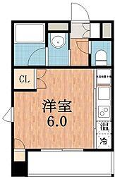 トーシン阪南町ビル[8階]の間取り