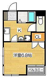 サン紗瑠夢館[305号室]の間取り