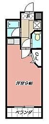 ステップビル[4階]の間取り