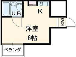 メゾン・ド・ノアピア富士見町[4階]の間取り