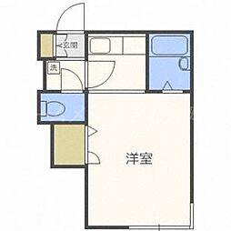 シティPOSHアルファ[3階]の間取り