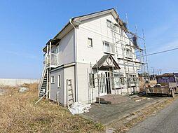 千葉県山武市小松の賃貸アパートの外観