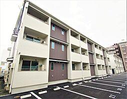 宮城県仙台市若林区六丁の目南町の賃貸アパートの外観