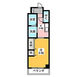 EXE原[6階]の間取り