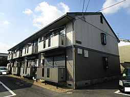 TタウンB棟[2階]の外観