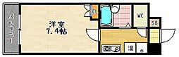 Sakura Residence[405号室]の間取り