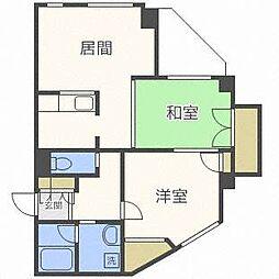 エスポワールアントレ[4階]の間取り