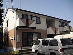 福岡県小郡市小郡の賃貸アパートの外観