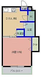 MYコーポ2[206号室]の間取り