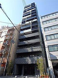 プレサンス上町台クレスト[7階]の外観