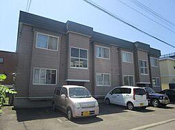 北海道札幌市東区北四十三条東9丁目の賃貸アパートの外観