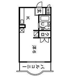 FSI湘南台[3階]の間取り