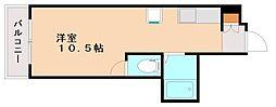 サンハイツ吉田[2階]の間取り