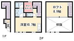 コレクション本郷[2階]の間取り