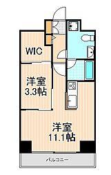 Log浅草[2階]の間取り