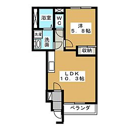 LR[1階]の間取り