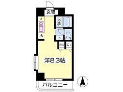 愛媛県松山市木屋町2丁目の賃貸マンションの間取り