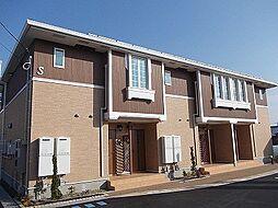 徳島県板野郡藍住町矢上字春日の賃貸アパートの外観
