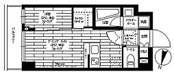 グランドコンシェルジュ三宿アジールコート[206号室]の間取り