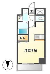 プレサンスNAGOYA桜通ビッグビート[8階]の間取り