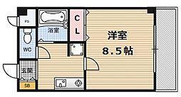 アプローズ堂島[4階]の間取り