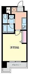 ファーストステージ湘南台[706号室]の間取り