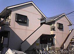 埼玉県草加市氷川町の賃貸マンションの外観