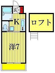 ハウスオガワ[2階]の間取り