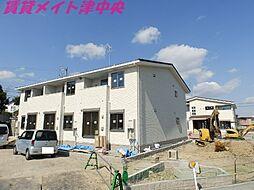 三重県津市半田の賃貸アパートの外観