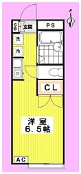 メゾン高円寺[103号室]の間取り
