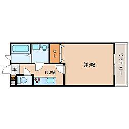 静岡県静岡市清水区堀込の賃貸アパートの間取り