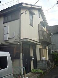 東京都三鷹市深大寺1丁目の賃貸アパートの外観