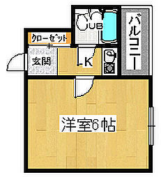 甲斐町TKハイツ[3階]の間取り