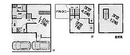 [一戸建] 大阪府堺市西区北条町2丁 の賃貸【/】の間取り