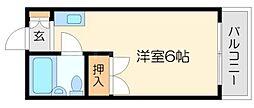 第8東城マンション[5階]の間取り