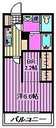 エスポワール5[2階]の間取り